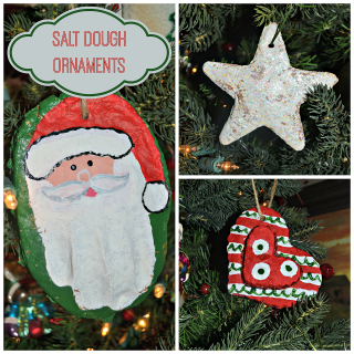 Saltdoughornaments
