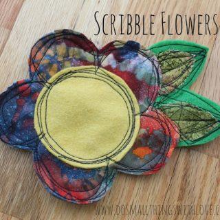 Scribble+flowers