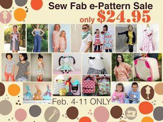 Sew fab epattern sale contrib