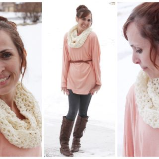 Simple+crochet+cowl