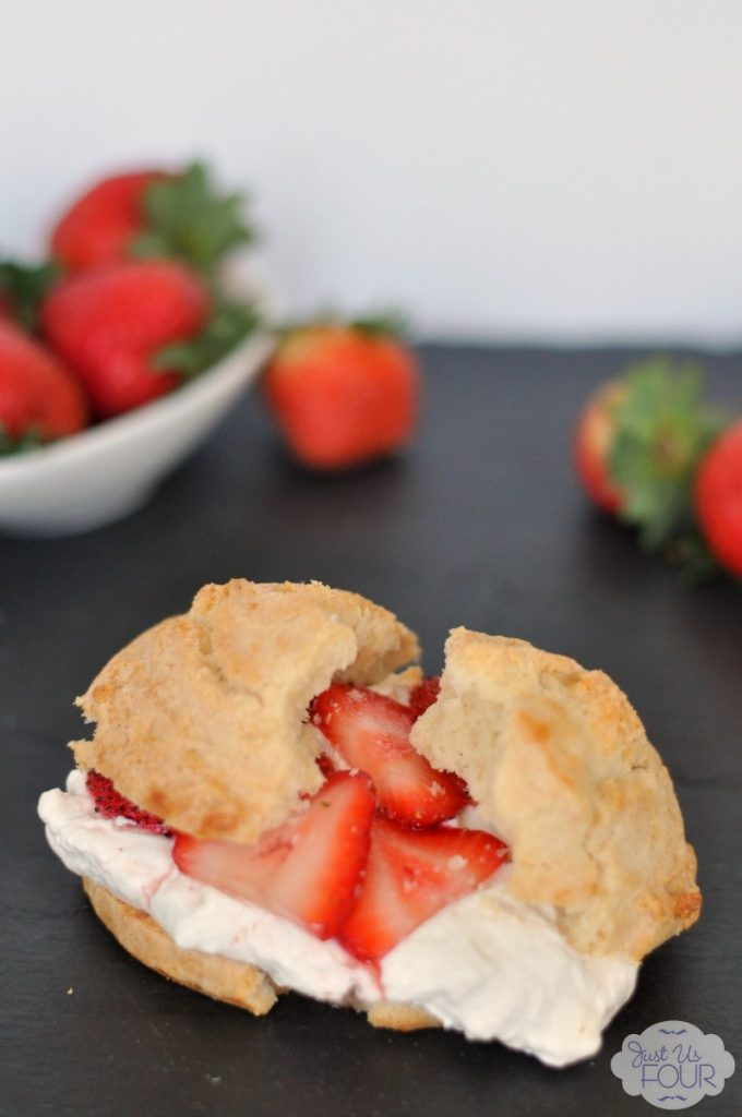 Make the best of summer's fresh fruit in this strawberry cheesecake shortcake.