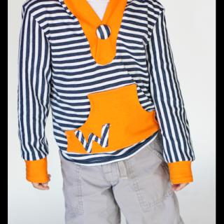 Striped+hangout+hoodie
