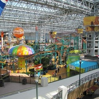 The rides look great at mall of america interlochen
