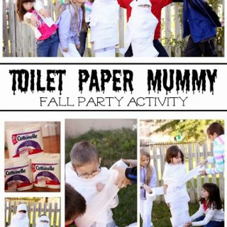 Toilet Paper Mummy Game