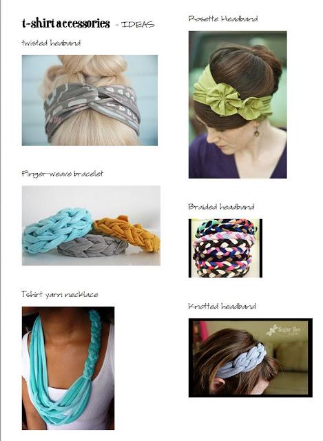 Girls Camp Craft Tshirt Crafts And Headbands Tutorial