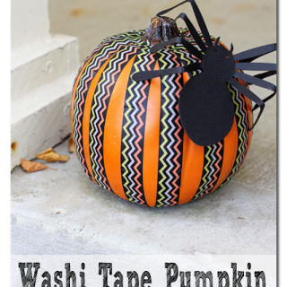 Washi+tape+pumpkin+easy+fall+decor
