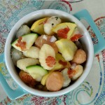 {Food Contributor} Summer Vegetable Gnocchi Salad