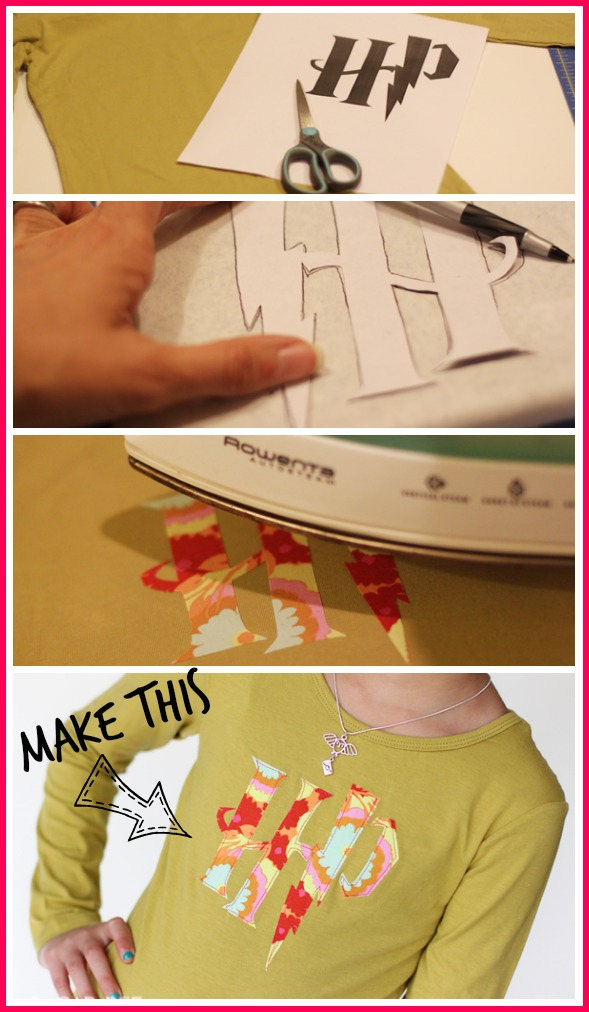 make a harry potter tshirt