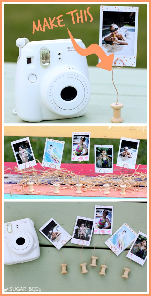 mini spool picture holder