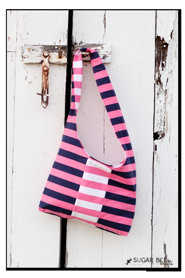 panel sling bag reversible
