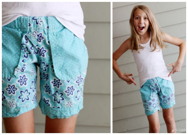 sewing camp shorts
