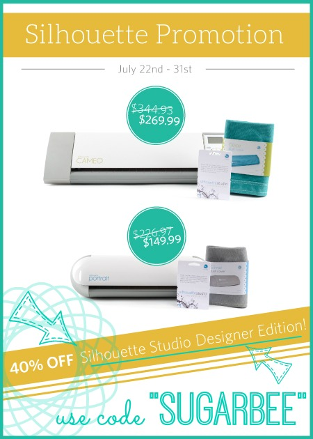 silhouette july promotion studio designer edition discount