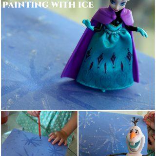 Frozen Ice Painting (Preschooler Contributor)