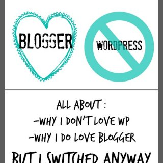 blogger versus wordpress