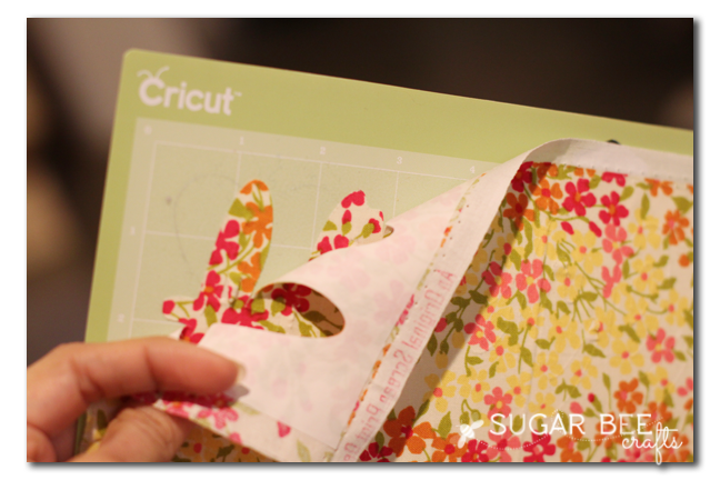 cricut explore fabric cut