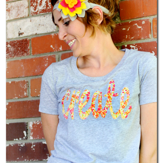 floral create tee tshirt