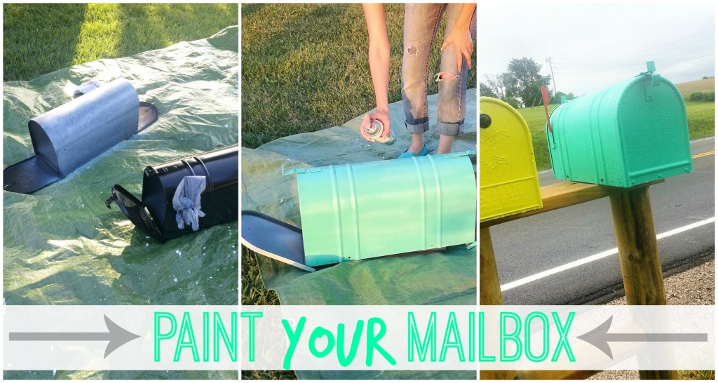 tips on how to paint your mailbox