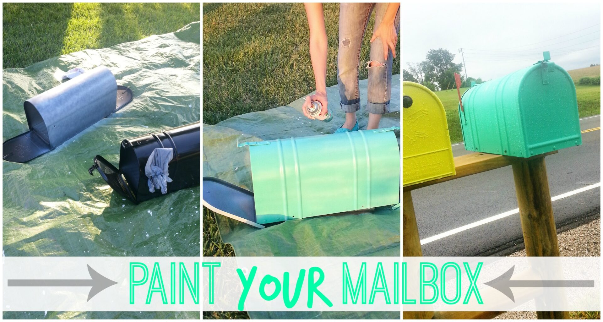 paint your mailbox sugar bee crafts