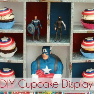 DIY custom cupcake display tutorial