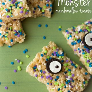 Monster marshmallow treats