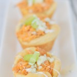 {Food Contibutor} Buffalo Chicken Biscuit Cups