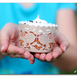 cricut explore cupcake wrapper