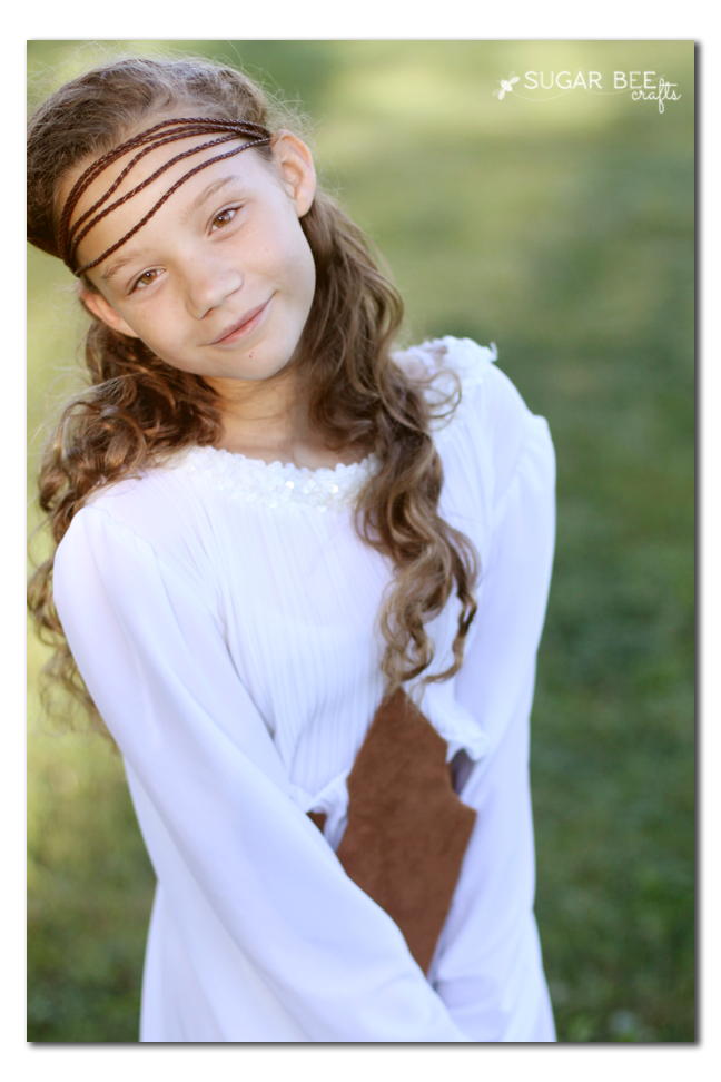 diy costume hippie headband