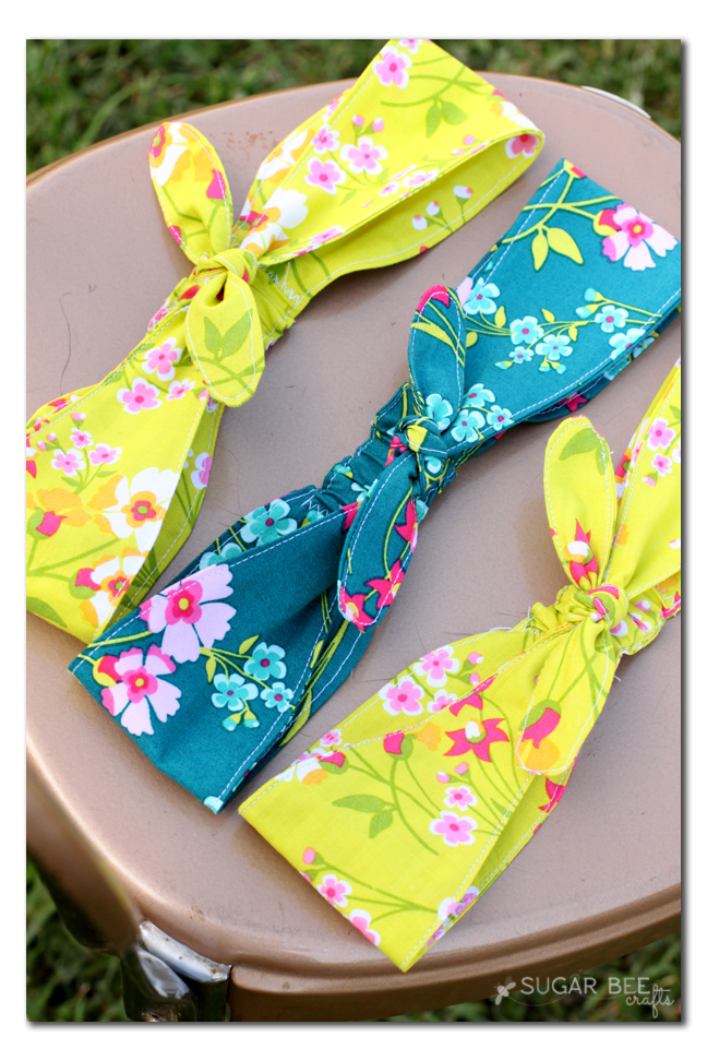 diy knotted headbands