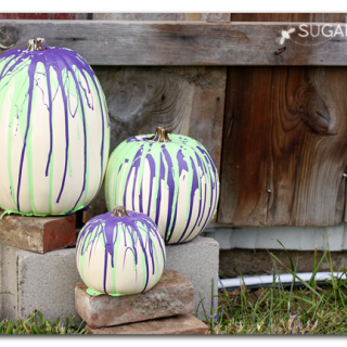 Fall pumpkin halloween decor