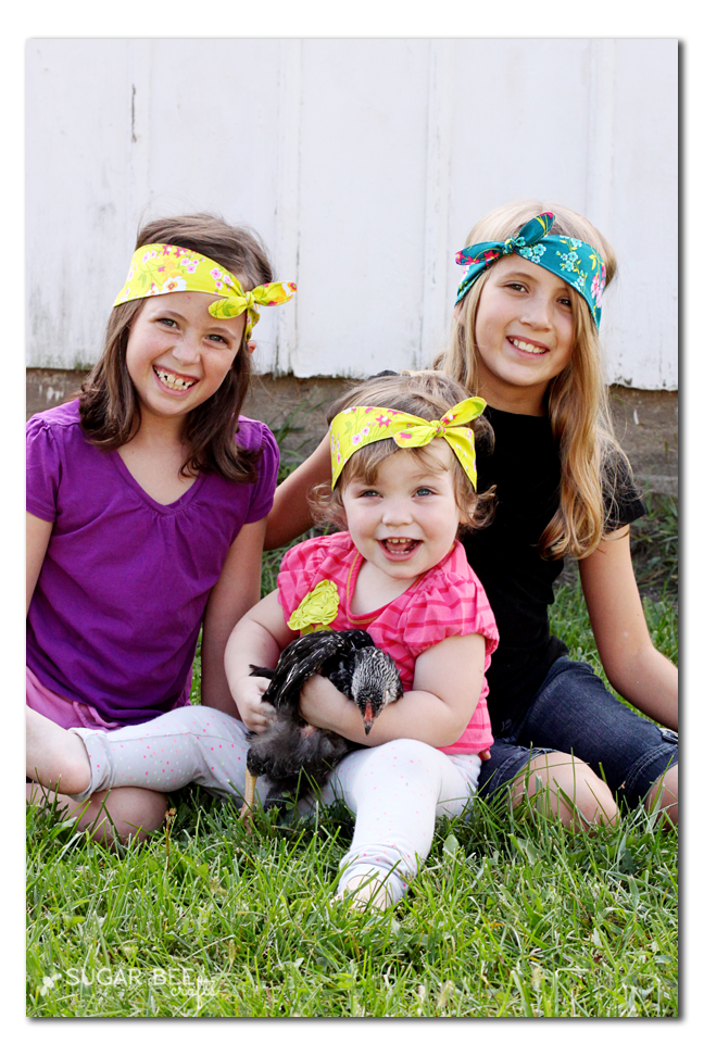 how to make fabric knot headbands with stretch