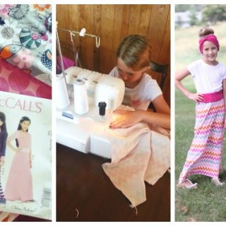 learn to sew maxi skirt mccalls m6985