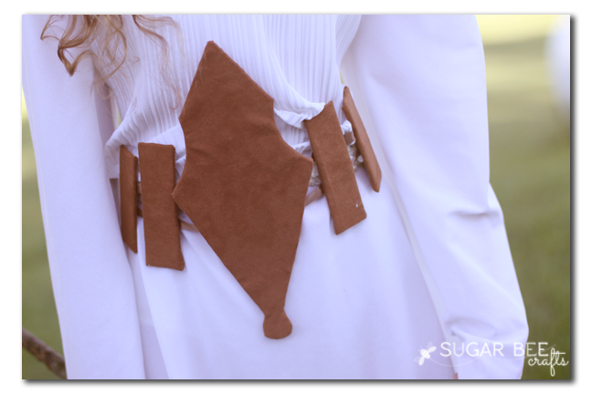 make your own costume belt