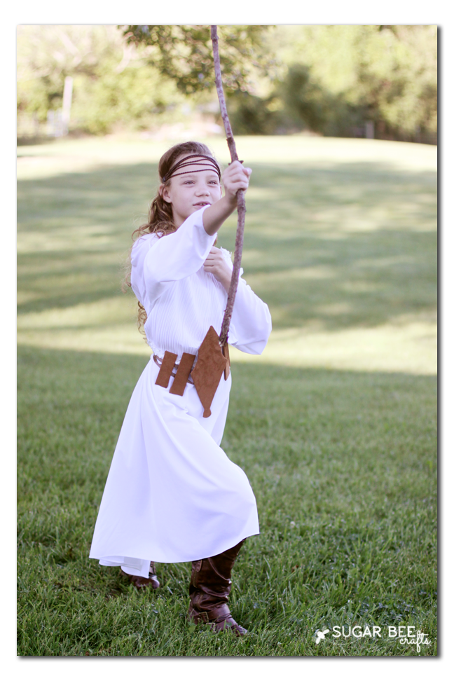 make your own fairy woods elf costume