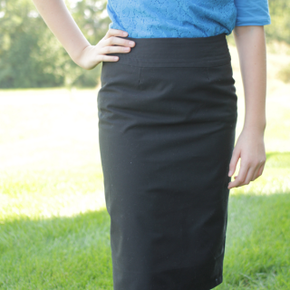 Sew a pencil skirt