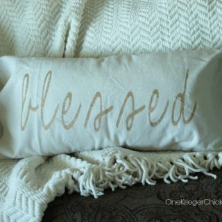 Blessed pillow onekriegerchick com
