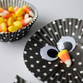 Candy corn owl