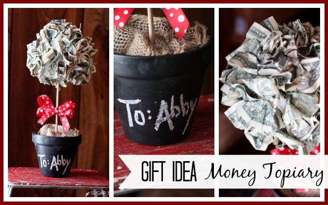 Money Topiary Gift Idea