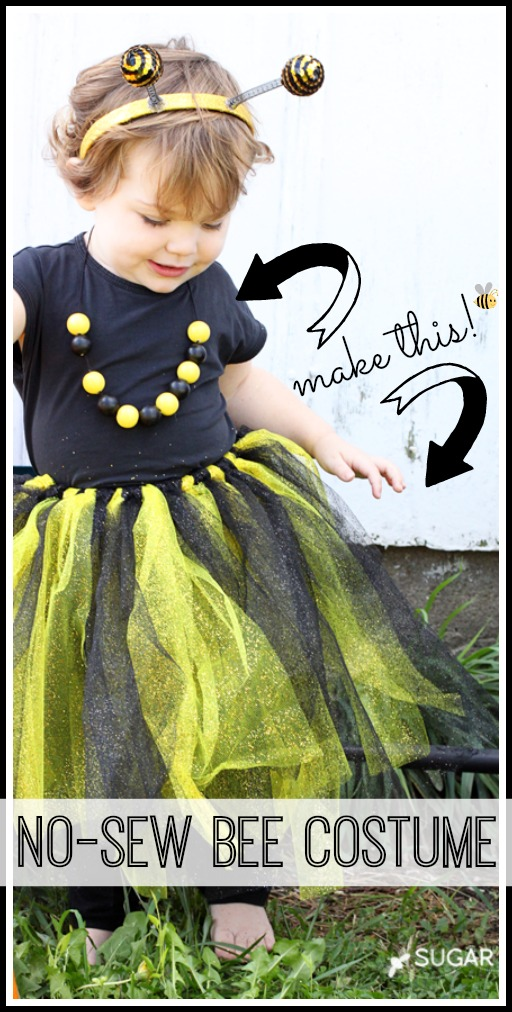 Last Minute (No Sew) BumbleBee Costume by Mandy Beyeler