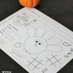 Thanksgiving Activity Sheet for Kids