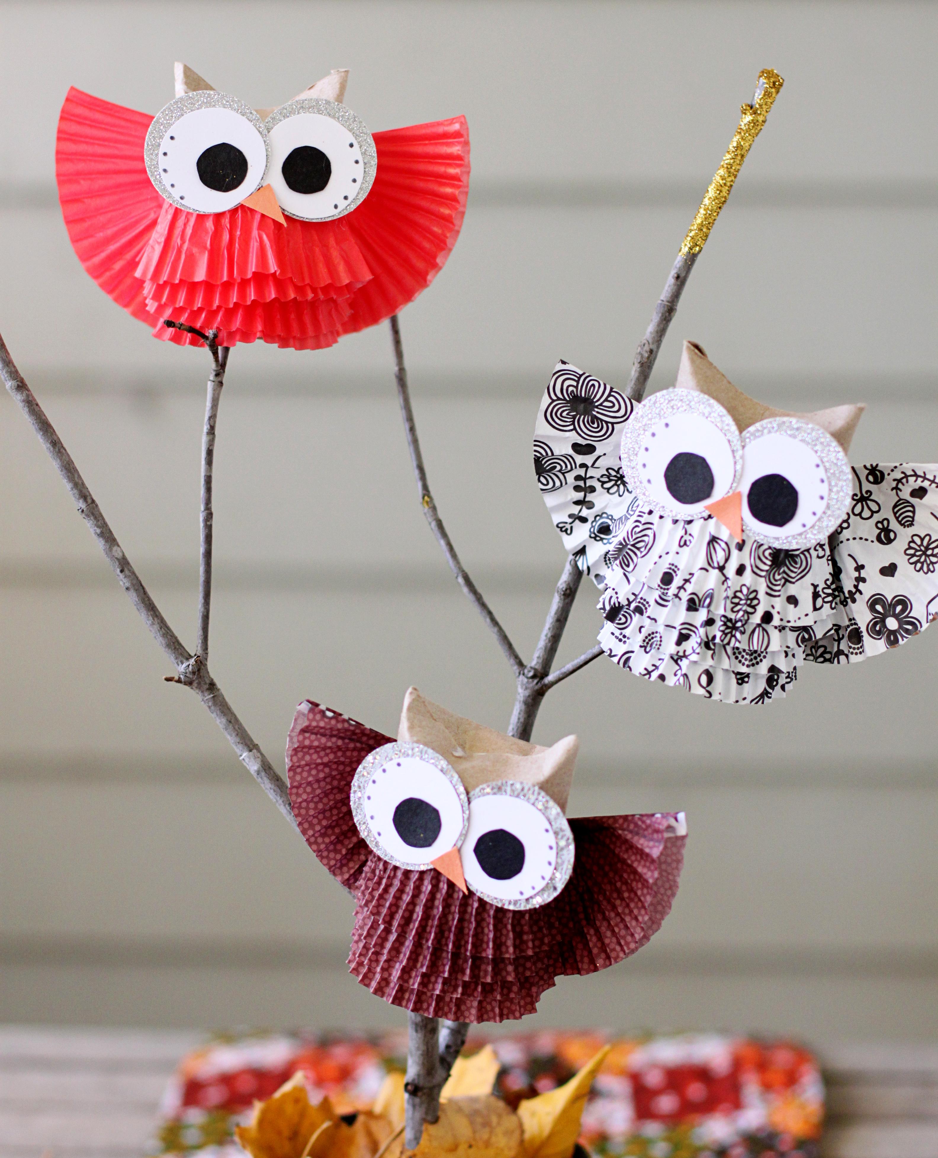 Cute owl centerpiece display sugar bee crafts 645b jeuxipadfo Image collections