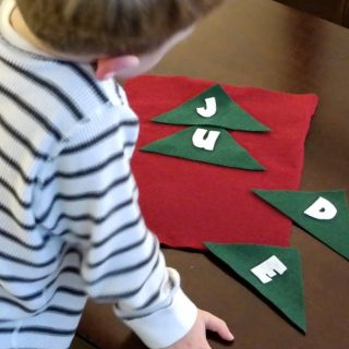 Preschool Contributor: Felt Name Tree