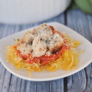 {Food Contributor} Chicken Parmesan Spaghetti Squash