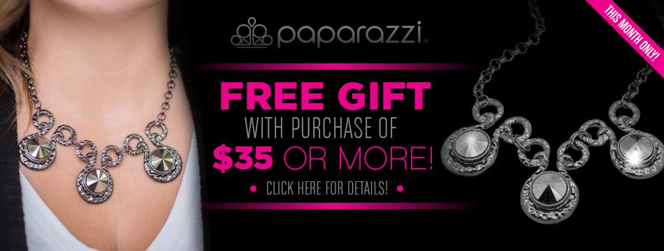 paparazzi free gift