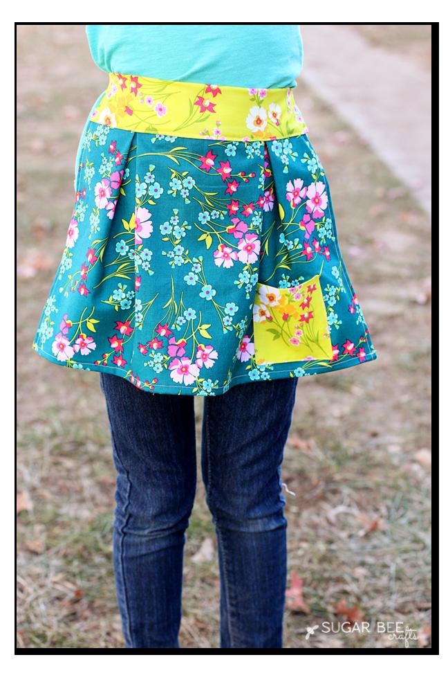 easy girls apron