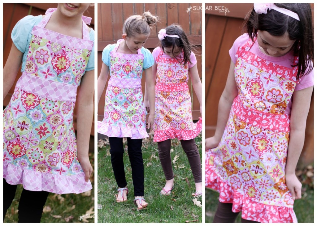 free girls apron pattern tutorial