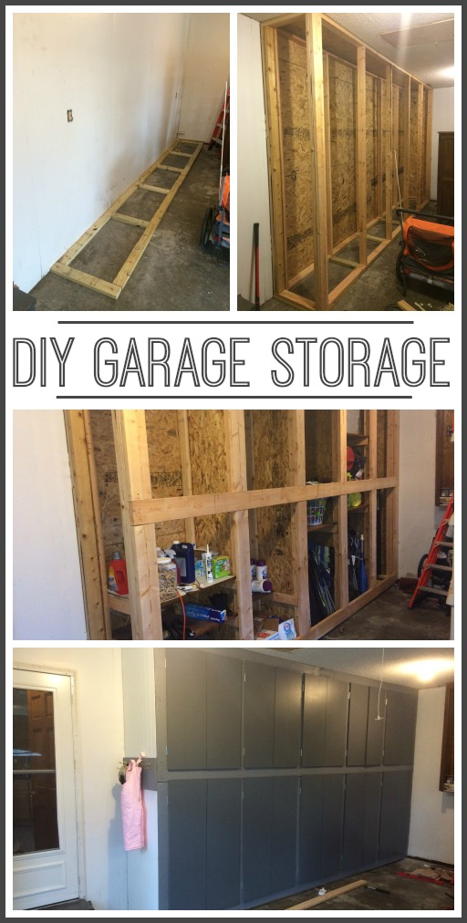 Diy garage storage cabinets sugar bee crafts for Build your garage online