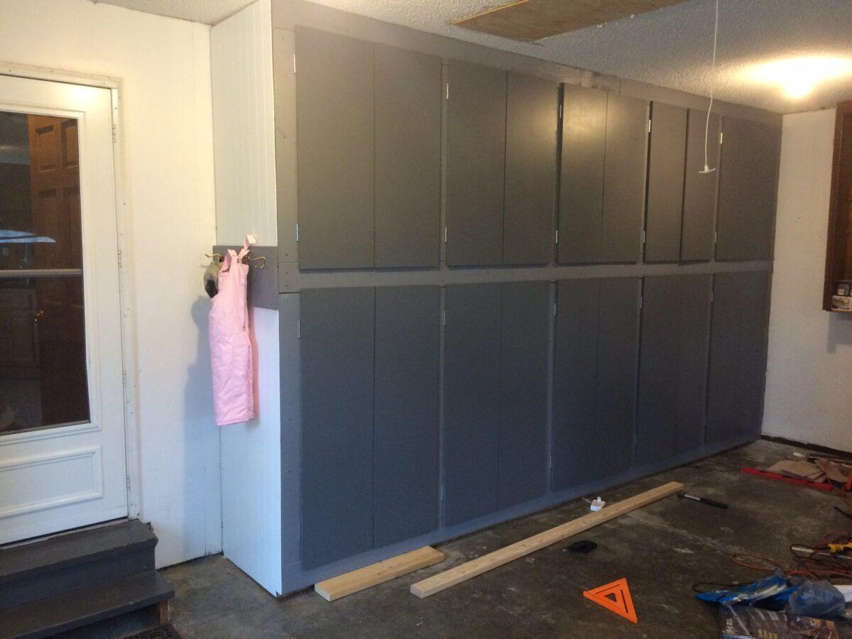 Plan Build Diy Garage Storage Cabinets