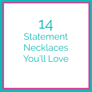 14 statement necklaces