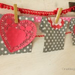 15 minute Valentines Garland {and countdown with a twist} OneKriegerChick