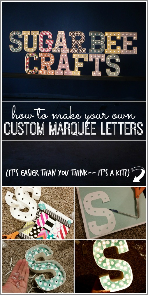 Custom Marquee Letters